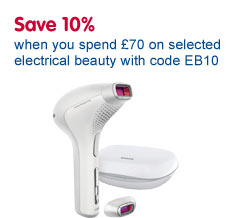 Save 10% on electrical beauty