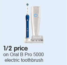 Half price on Oral B Pro electric toothbrush