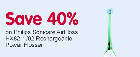 Save 40% on Philips Airfloss OOTW