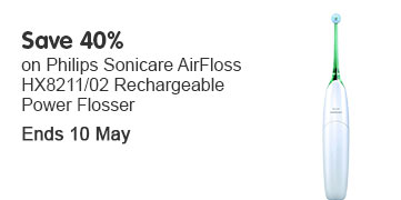 Save 40% philips airfloss OOTW