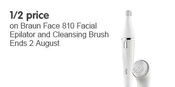 1/2 price on Braun Face 810