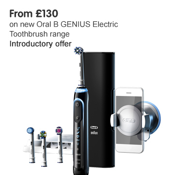 New Oral B Genius From £130