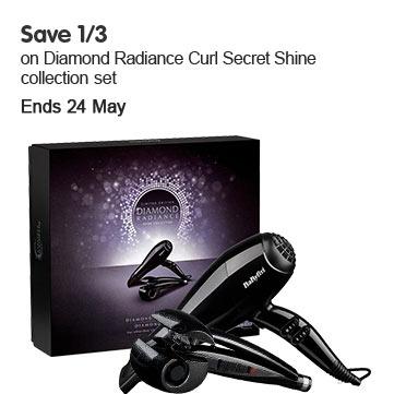 Save 1/3 BaByliss Diamond Curl Secret Gift Set