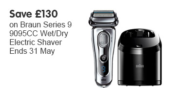Save £130 Braun Series 9 OOTW