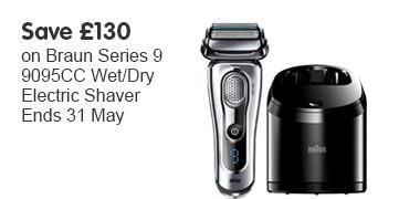 Save £130 Braun Series 9 OOTW