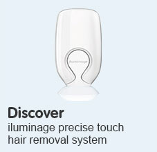 Discover iluminage precise touch hair removal system