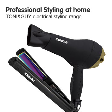 Professional Styling at home TONI&GUY electrical hair styling