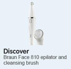 Discover Braun face 810