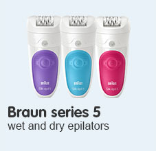 Braun Series five epilators