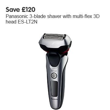 Save £120 Panasonic ES-LT2N Shaver