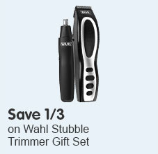 Save 1/3 on Wahl Stubble Trimmer Gift Set