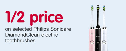 Half price on selectyed philips diamond clean