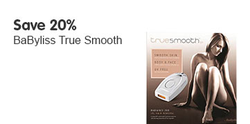 Save 20% Babyliss truesmooth ipl