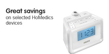 Great Savings on selected HoMedics devices