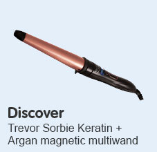 Discover Trevor Sorbie keratin and argan magnetic multiwand