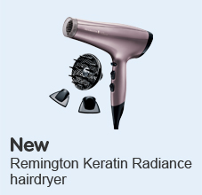 New Remington keratin