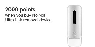 2000 points when you buy NoNo Ultra