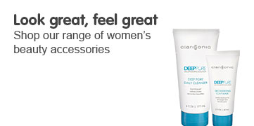 Look great, feel great, shop our range of women's beauty accessories