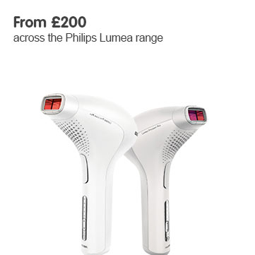 From 200 pounds across the philips lumea range