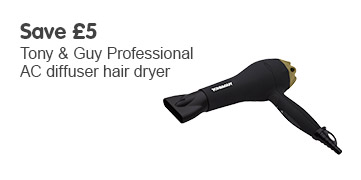 Save £5 TONI&GUY dryer
