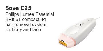 Save £25 Philips Lumea essential iPL