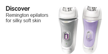 Discover Remington epilators