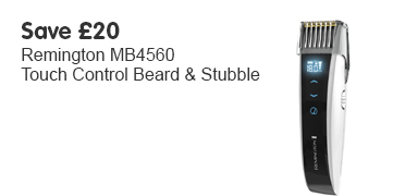 Save £20 Remington MB4560 Touch Control Beard & Stubble