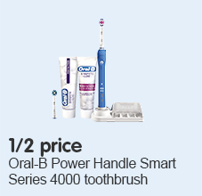 half price on oral b 4000