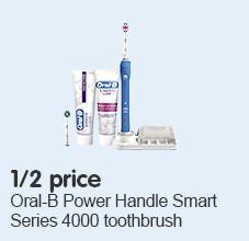 1/2 price on Oral b 4000