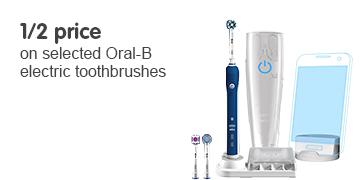 1/2 price oral B