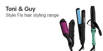 Toni and Guy style fix hair styling range