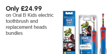 Only 24.99 on oral B Kids Bundles