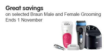 Great Savings on braun female and male grooming