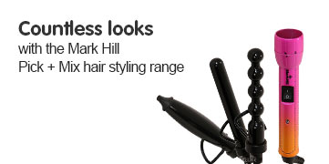 Countless looks with Mark Hill Pick and Mix styling range