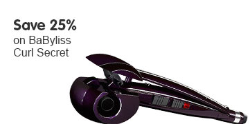 Save 25% BaByliss Curl Secret