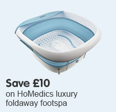 Save £10 HoMedics Footspa