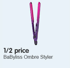 1/2 price babyliss ombre styler