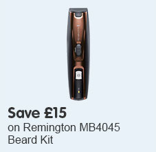 Save £15 on Remington MB4045