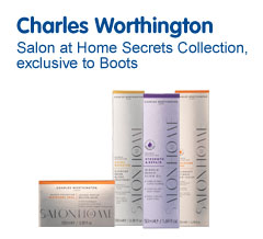 Charles Worthington Salon at Home Secrets Collection