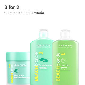 3 for 2 john frieda