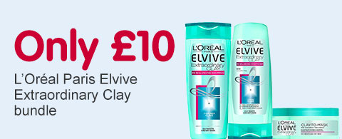 only ten pound loreal elvive extraordinary clay
