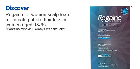 Hair loss products for women