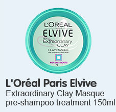 loreal paris elvive extraoridinary clay masque