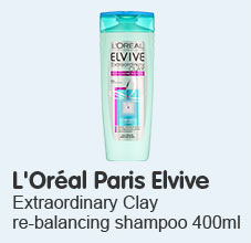 loreal paris elvive extraordinary clay shampoo