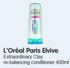 loreal paris extraordinary clay conditioner