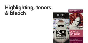 Highlighting Toners and Bleach