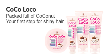 CoCo Loco Packed full of CoConut, your first step for shiney hair
