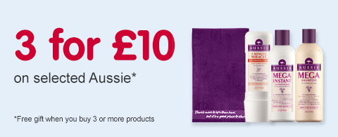 3 for £10  on selected Aussie