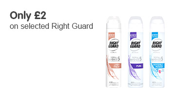 Only £2 on selected Right Guard