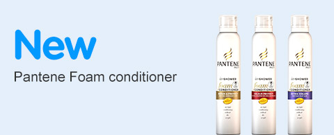 New Pantene Foam Conditioner